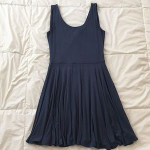 Dusty slate blue sundress